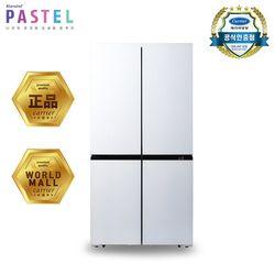 캐리어 클라윈드 4도어 냉장고(화이트) CRF-SN560WFC (566L)