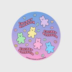 Dot blossom bear friends(마우스패드)