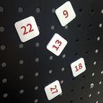 고무자석 달력자석 숫자자석