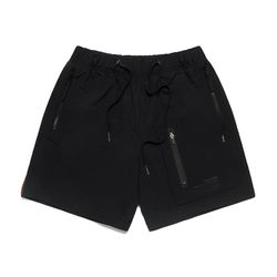 S TECH SHORT PANTS BLACK