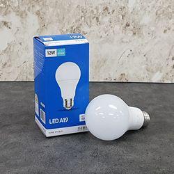 장수 A19 12W LED 볼전구 (주광색) 6500K 3등급