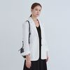 CHIC LINEN SINGLE JACKET IVORY