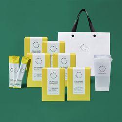 콤마나인 선물패키지 깔라만시(6개월)+콜드컵+쇼핑백