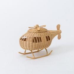 다다다 라탄 헬리콥터 수납함