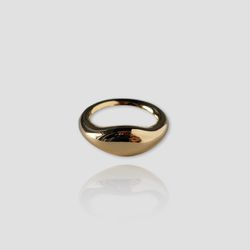 Gold Volume Ring (각인)