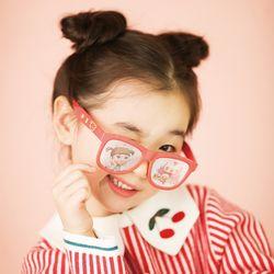 콩순이 유아동 선글라스 핀홀 안경 자외선 블루라이트 차단