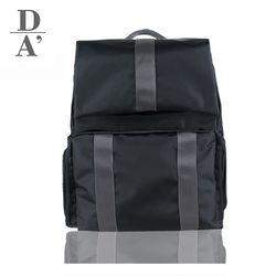 드로마 폴스백 베이비 기저귀가방 백팩(그레이)