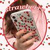 strawberry (clear) 아이폰케이스