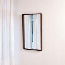 헤스팅 월넛 거울(1000*600)