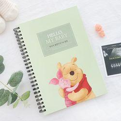초음파앨범(임신다이어리)-곰돌이 푸 날마다 행복해