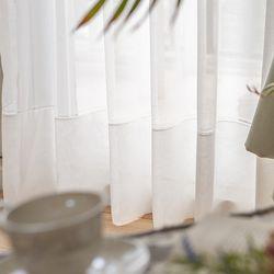 아티바움 쥴리아 쉬어 커튼 크림 (수입원단)