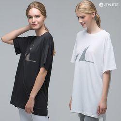 Y존 힙커버 남여공용 오버핏 HRT14 선데이 티셔츠