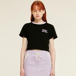 Studio Crop T-Shirts (black)
