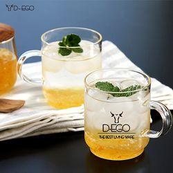 DEGO 테라스 4p 세트 홈카페 커피잔 찻잔 유리잔