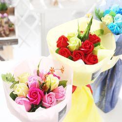 장미 10송이 꽃다발 레드 로즈데이 성년의날 부부의날