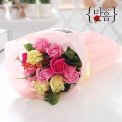 장미 10송이 꽃다발 핑크 로즈데이 성년의날 부부의날 선물