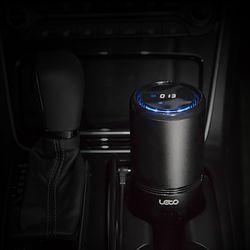 레토 스마트 모션인식 헤파필터 차량용 공기청정기 LAP-C04A
