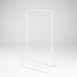 (택배발송/DIY) 스페이스 800 수평형 행거(화이트)