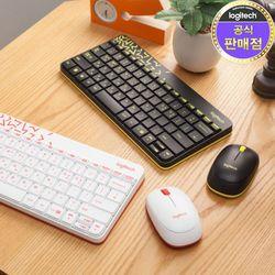 로지텍 정품 MK240 NANO 무선 키보드마우스 Set
