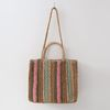 N Rattan Rainbow Shoulder Bag