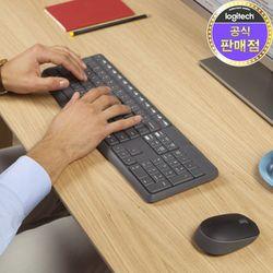 로지텍 코리아 MK235 무선 키보드 마우스 Set 정품