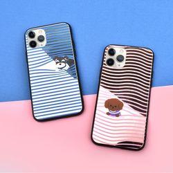 나인어클락 리틀퍼피 미러 범퍼 디자인 케이스 - 아이폰7 8