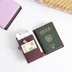 렌토공방 여권케이스 여권지갑 6color
