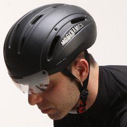 Mc.DYNAMICS 아시안핏 멀티 에어로 자전거헬멧 무광블랙