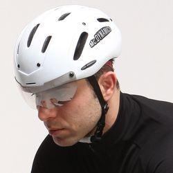 Mc.DYNAMICS 아시안핏 멀티 에어로 자전거헬멧 유광화이트