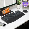 로지텍 코리아 MK850 무선 멀티 블루투스 키보드 마우스 Set