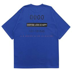 LAMODE OVERFIT LONDON BAY TSHIRT (BLUE)