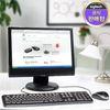 로지텍 코리아 MK120 NEW 유선 키보드 마우스 Set 정품