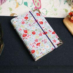 카드케이스 만들기 KIT블루별꽃