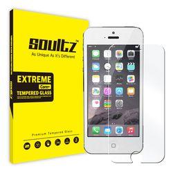 솔츠 아이폰5S 5 강화유리 방탄 액정보호필름