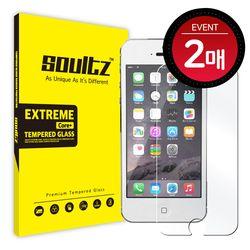 솔츠 아이폰5S 5 강화유리 방탄 액정보호필름 2매
