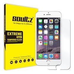 솔츠 아이폰6+ 6s+ 강화유리 방탄 액정보호필름