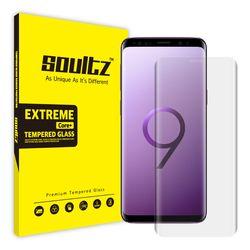 솔츠 갤럭시 S9+ 하이브리드 방탄 액정보호필름 SH