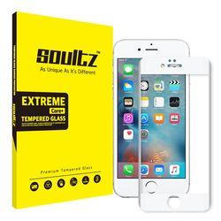 아이폰 6S+ 6+ 풀커버 강화유리 액정보호필름 (화이트)