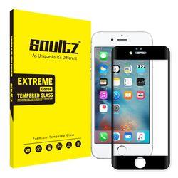 아이폰 6S+ 6+ 풀커버 강화유리 액정보호필름 (블랙)
