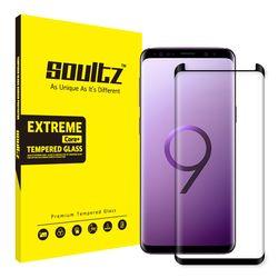 갤럭시 S9 풀커버 강화유리 액정보호필름 (블랙)