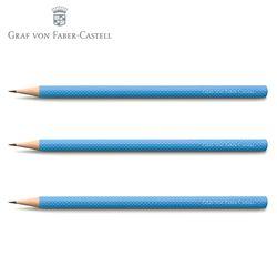 그라폰 펜슬 기로쉐 걸프 블루 (3개입)