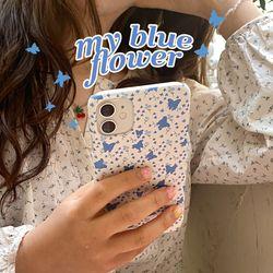 my blue flower 아이폰케이스