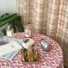 온더하이틴플라워핑크 식탁보 테이블보 170x140cm