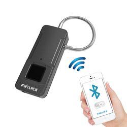 피피락 Fipilock 블루투스 지문인식 자물쇠 P4 Pro 실버