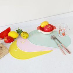 스마일가드 실리콘 식탁매트 테이블매트(3컬러)