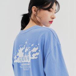 [스티커팩증정] 플레임 롱슬리브 티셔츠 - SORA