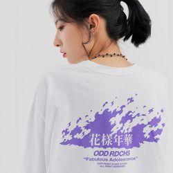 [사은품 증정] 플레임 롱슬리브 티셔츠 - WHITE