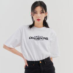 [스티커팩증정] 오드 러디칙스 로고 티셔츠 - WHITE