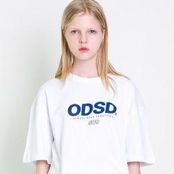 [스티커팩증정] 오드스튜디오 ODSD 로고 티셔츠 - WHITE
