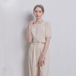 W130 W-yg blouse beige